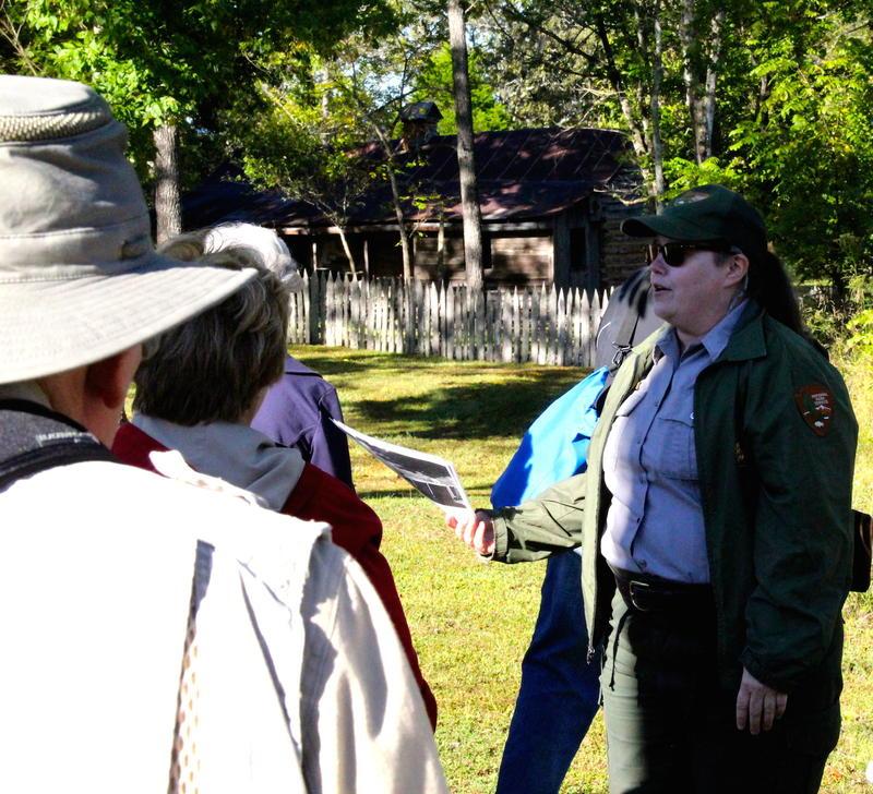 NPS Ranger Joyce Umbach
