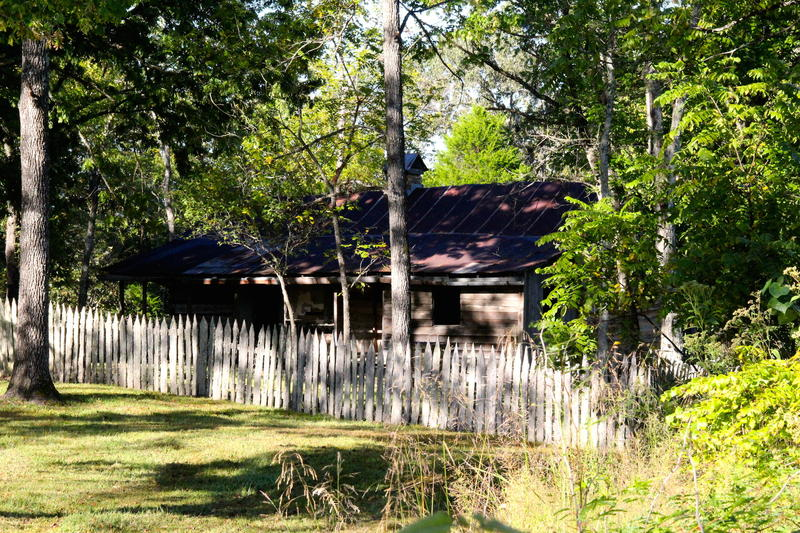 Buffalo National River homesteader cabin