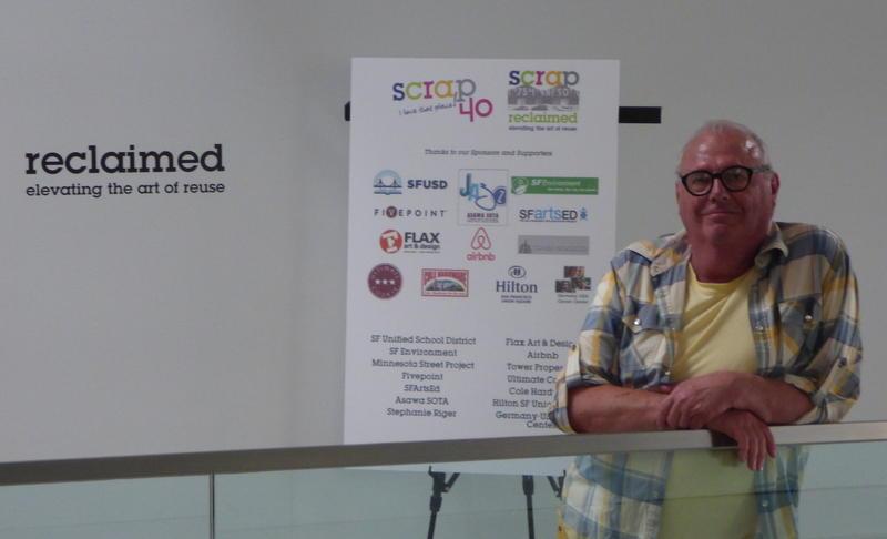 Michael Bongiorni, President of non-profit SCRAP in San Francisco