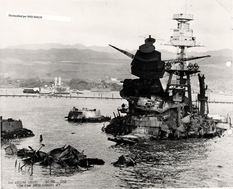 USS Arizona December 10th 1941