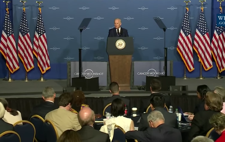 Vice President Joe Biden addresses the Cancer Moonshot Summit this past summer. Watch his full address below.