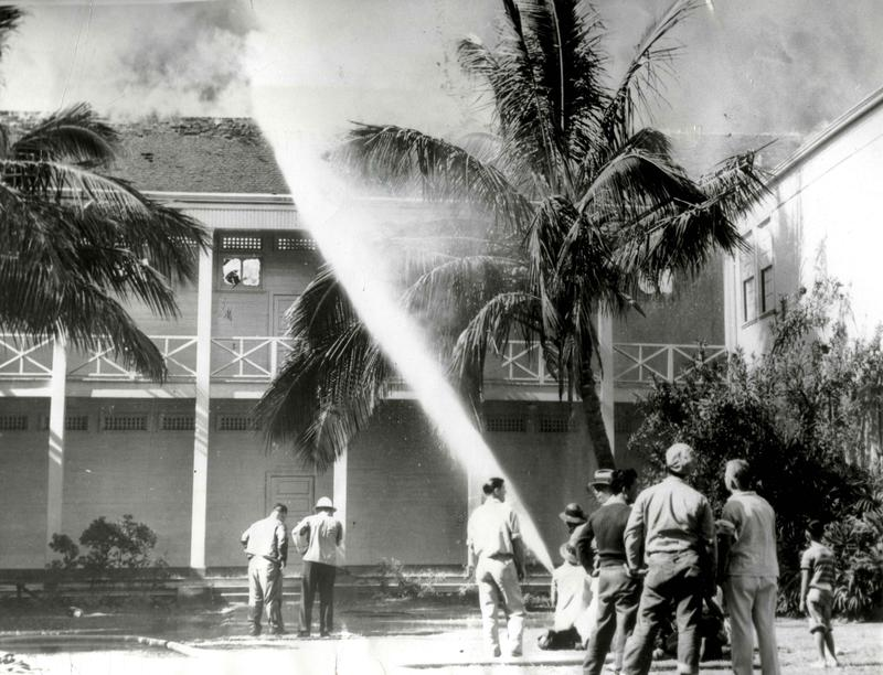 Civilian Damage in Honolulu December 7th 1941