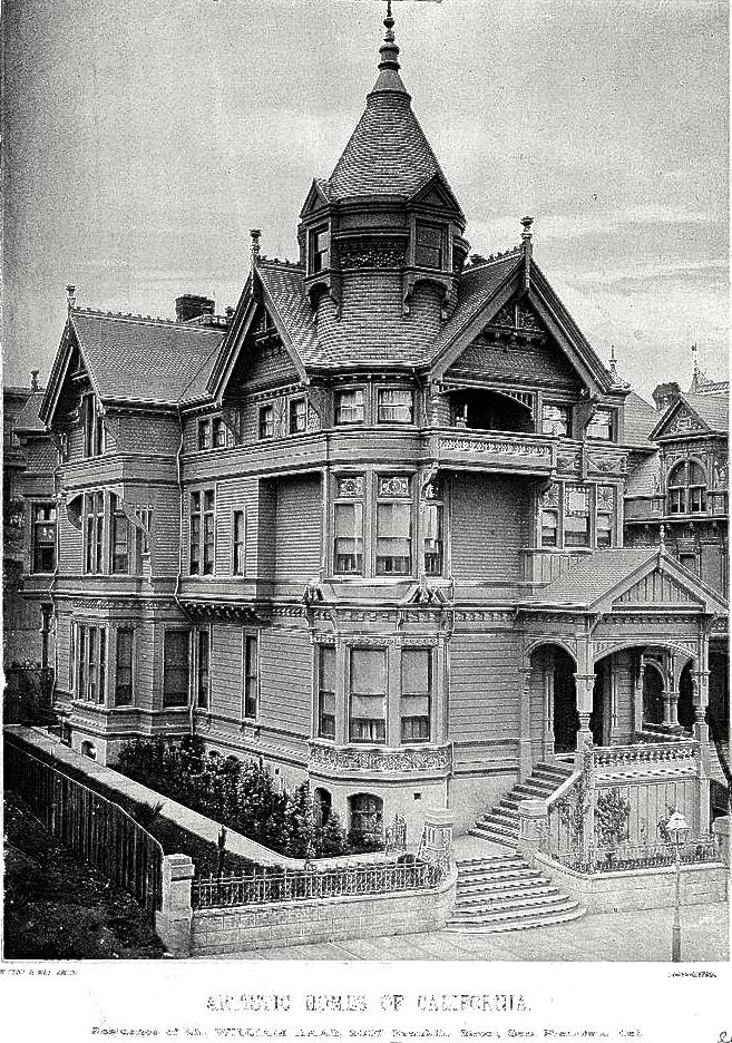Historic Haas-Lilienthal Victorian circa-1887