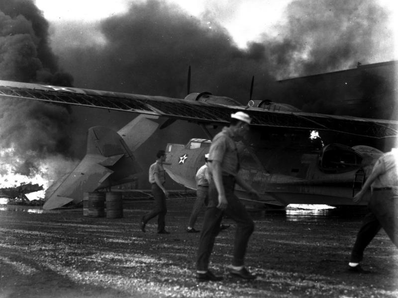 kaneohe naval air station December 7th 1941