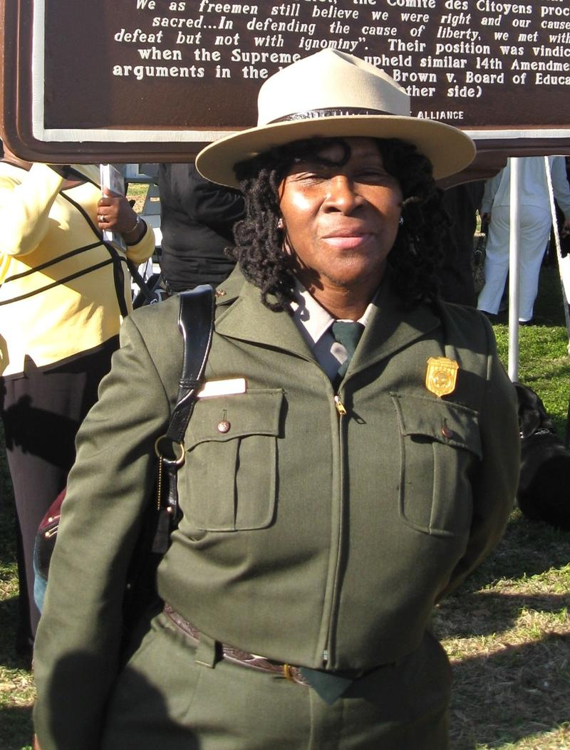 Robin White National Park Service Superintendent at Little Rock Central High School National Historic Site