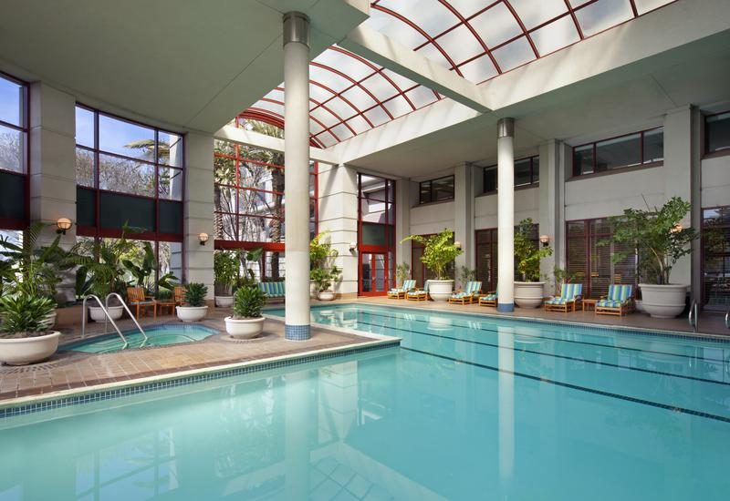 Westin San Francisco Airport indoor pool