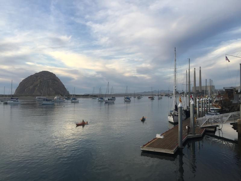 Morro Bay Harbor year round kayaking destination