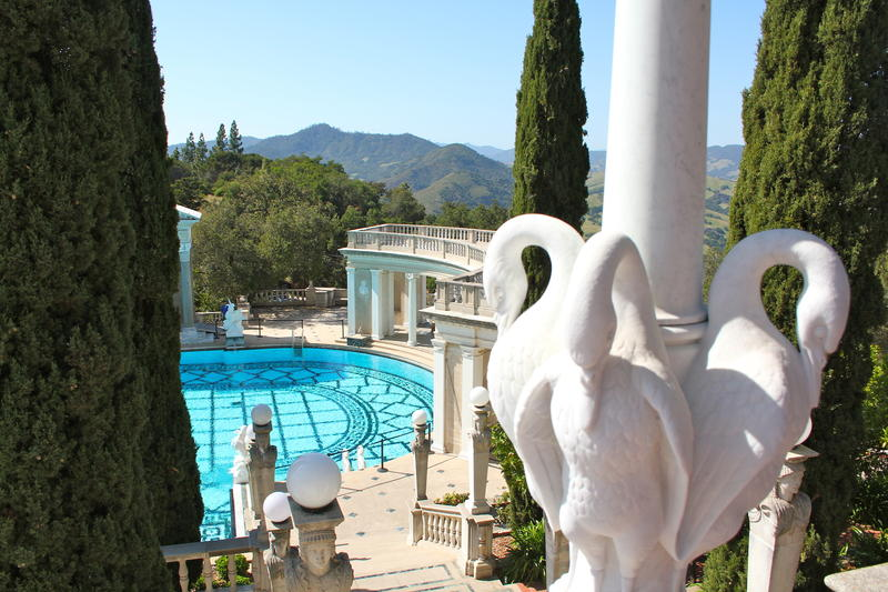 Hearst Castle, San Simeon is one of the top draws for tourists from China