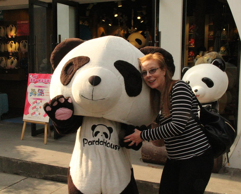 Pandas are adored throughout China