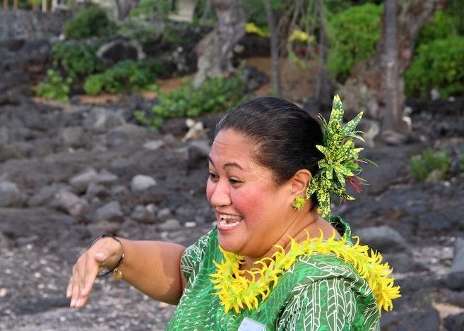 Hawaiian Ho'okipa Ambassador of Culture and Activities, Nani Kupihe