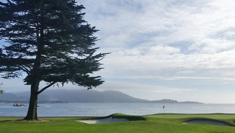 Pebble Beach green #1