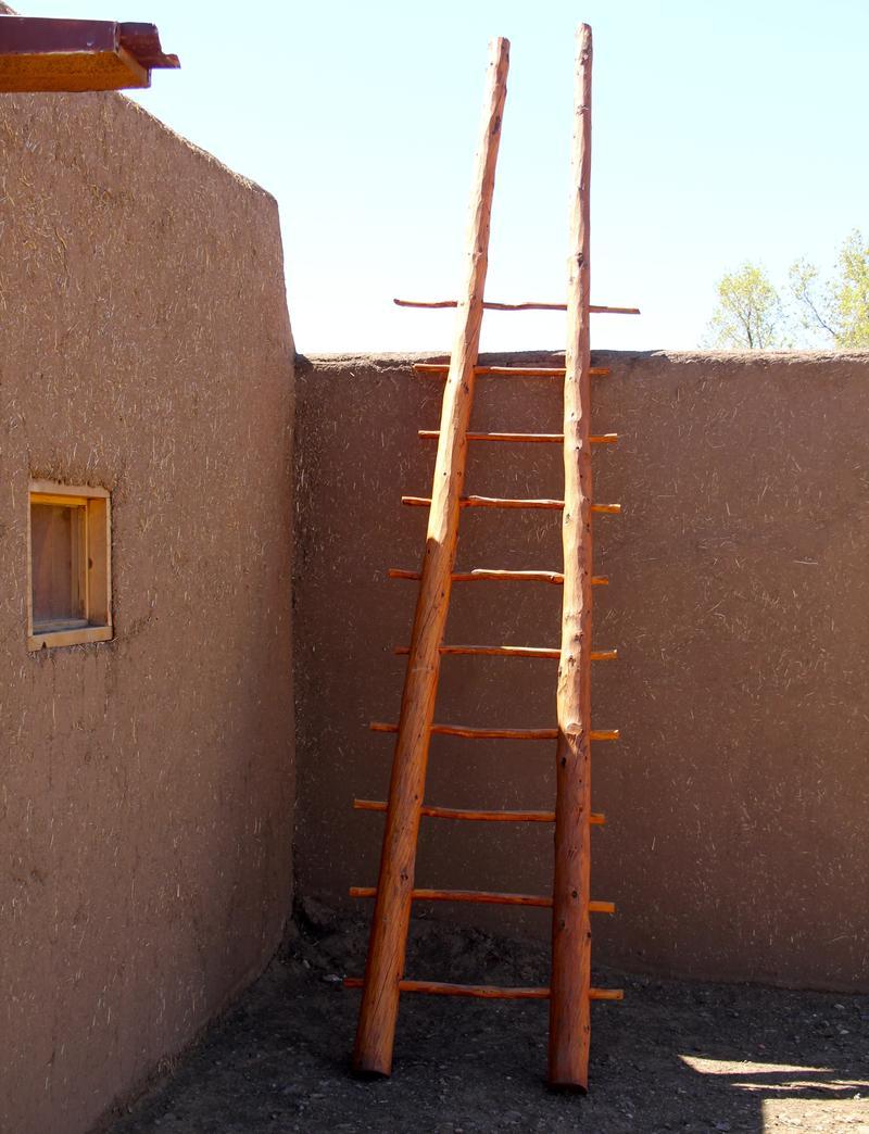 Taos Pueblo courtyard