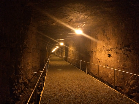 Underground in the Bell Island Mine Tour