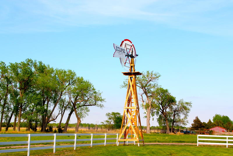 Classic Eclipse windmill at Buffalo Billl Ranch