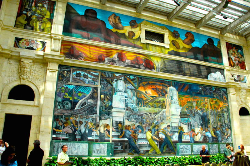 Diego Rivera's frescos are not to be missed highlight at the Detroit Institute of Art