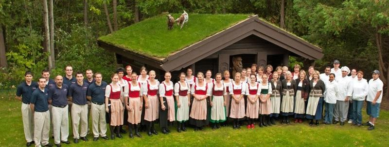 Al Johnson's Swedish Restaurant staff