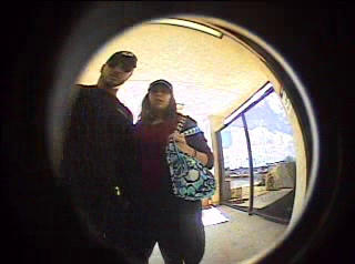 The Santa Barbara County Sheriff's Office released photos of the skimmer suspects, including this couple.