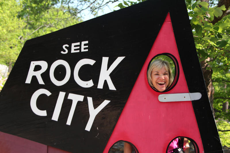 Tourists from around the world love See Rock City's family style activities