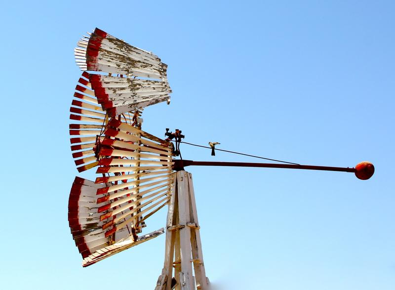 Iconic Nebraska windmill