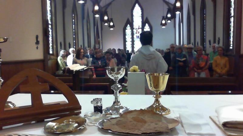 Bread & Wine at the Altar