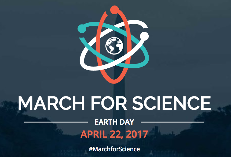 The event's logo on the marchforscience.com website