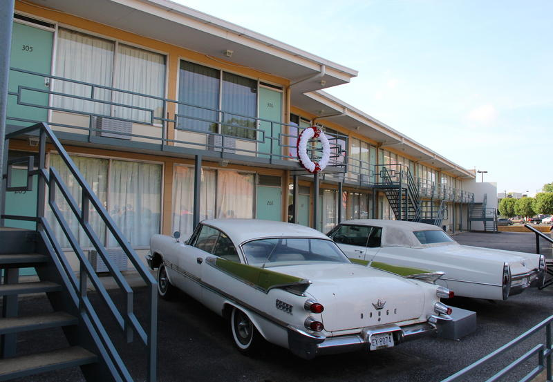 The Lorraine Motel, Memphis, Tennessee--frozen in time
