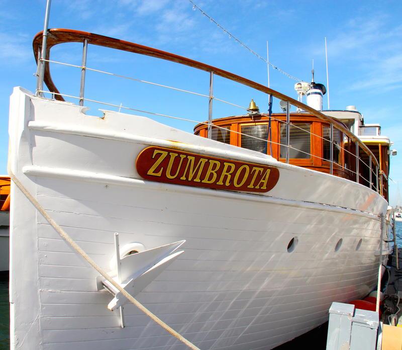 M.V. Zumbrota berthed at Marina del Rey