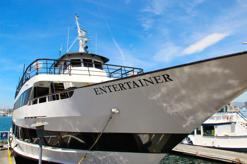 M.V. Entertainer home ported in Marina del Rey, California