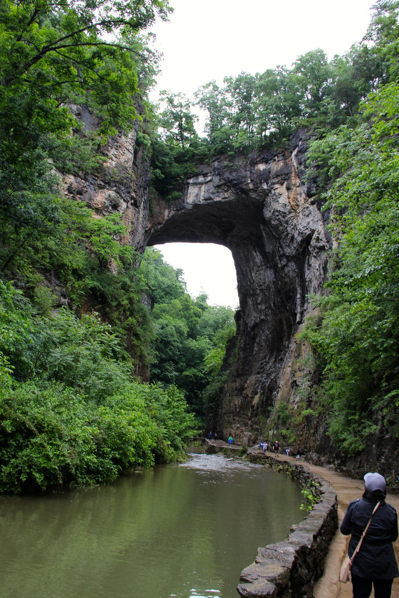 Natural Bridge--One of Virginia's newest State Parks