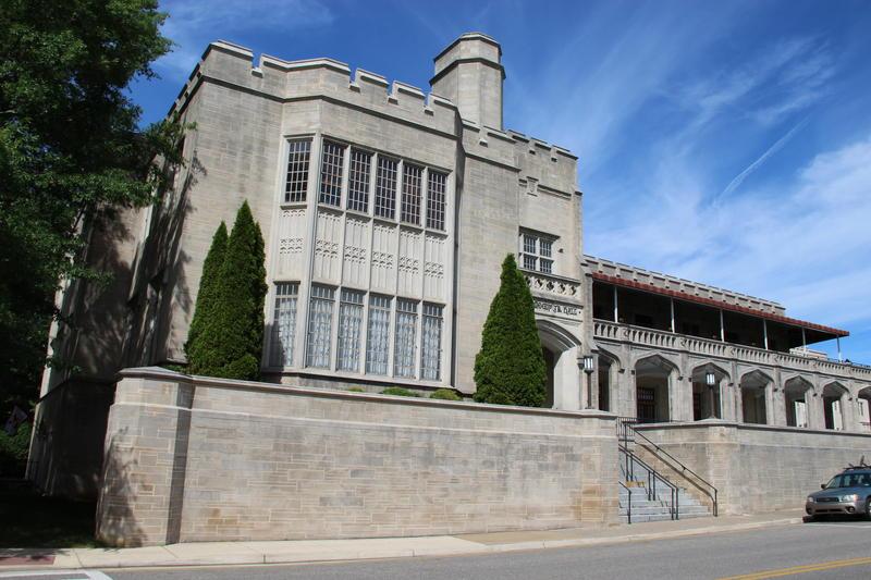 Campus hall at VMI