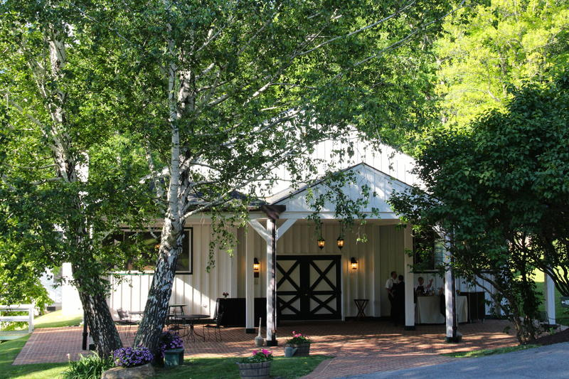 The performance hall at Garth Newel Music Center is a converted horse arena