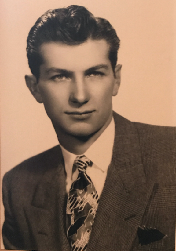 George Borello in his younger days. Borello transitioned into hospice care after being diagnosed with lung cancer. He died last month.
