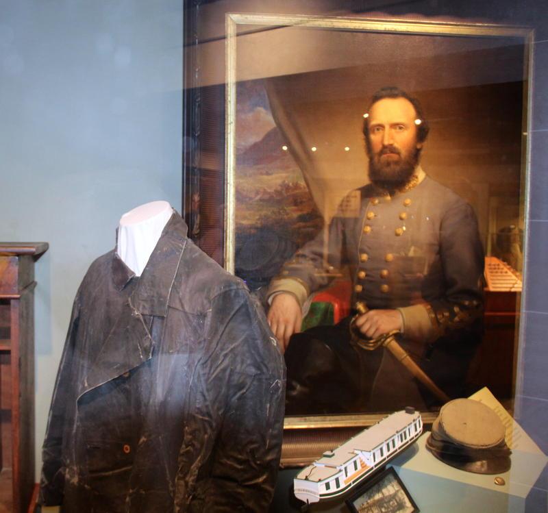 Stonewall Jackson memoriablia at VMI Museum