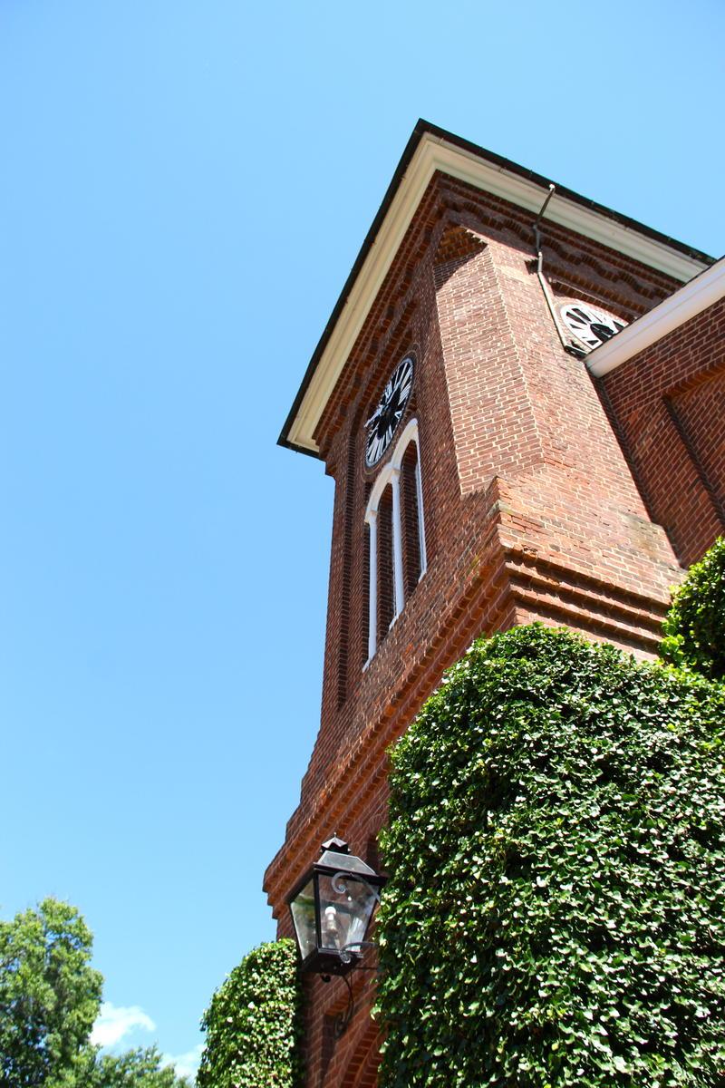 Washington and Lee University chapel steeple