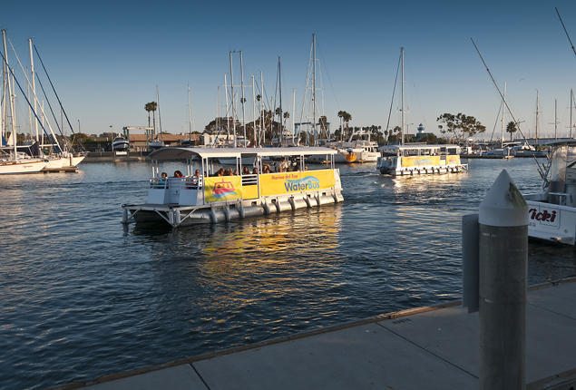 LA County's WaterBus in Marina del Rey