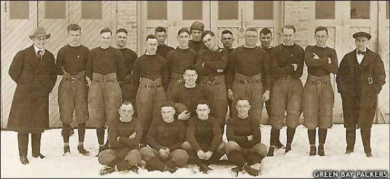 1919 Green Bay Packers team