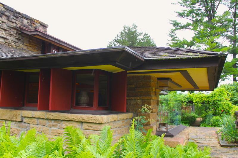 Taliesin--Frank Lloyd Wrights home in Wisconsin
