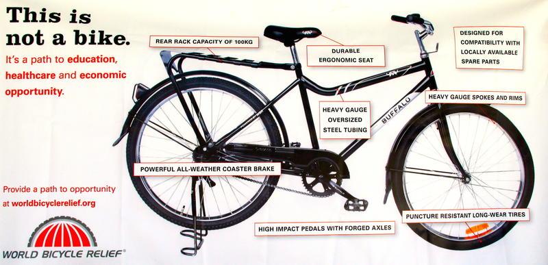 World Bicycle Relief Providing Life Transformative Buffalo Bikes To