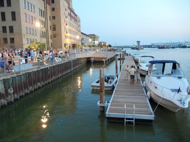 Green Bay, Wisconsin's City Deck redeveloped waterfront