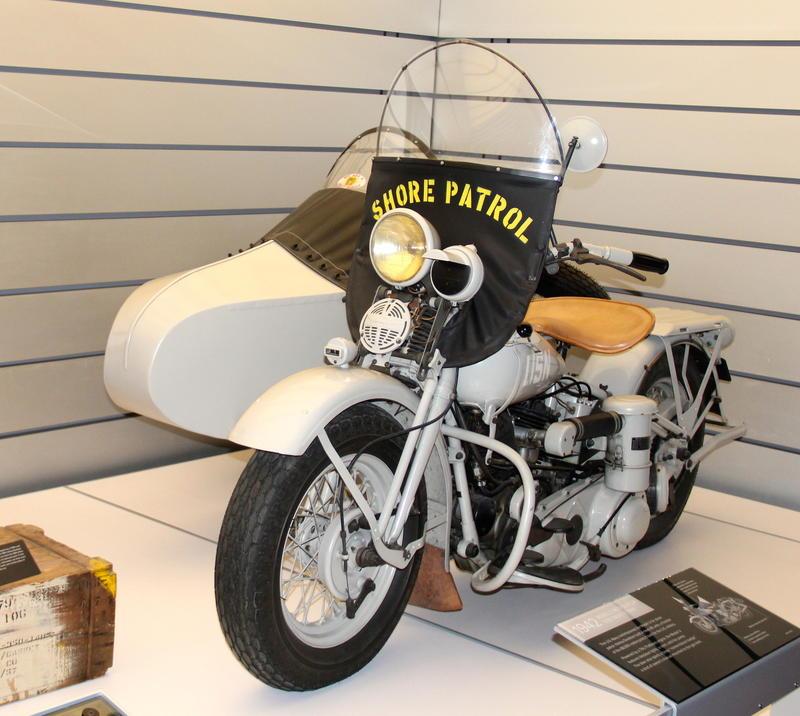 1942 U.S.N Shore Patrol Harley-Davidson