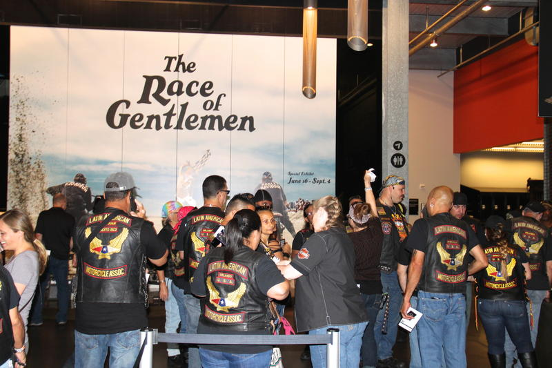 Latin American Motorcycle Association visits the Harley-Davidson Museum in Milwaukee