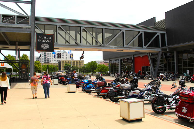 Motorcycle enthusiasts around the world come to the Harley-Davidson Museum