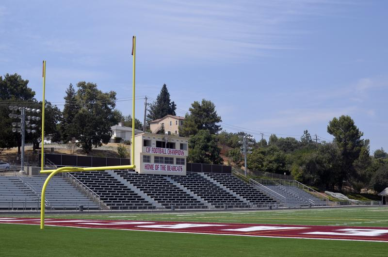 The home of the Paso Robles Bearcats.