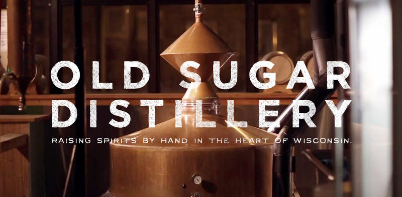 Old Sugar Distillery's distinctive copper pot stills