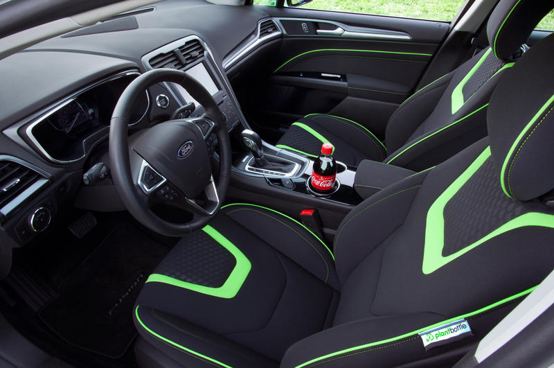 2014 Ford Fusion seats made with recycled plastic bottles