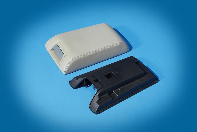 Cellulose fiber composit Ford armrest