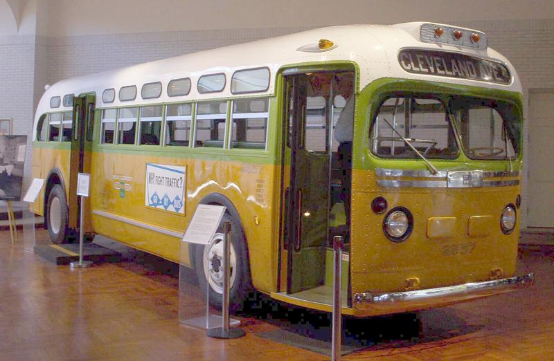 Rosa Park's bus at The Henry Ford