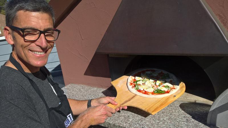 SLO Fire Chief and his wood-fired pizza oven