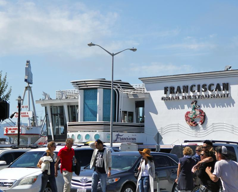 The Franciscan Crab Restaurant an icon along Fisherman's Wharf since 1957