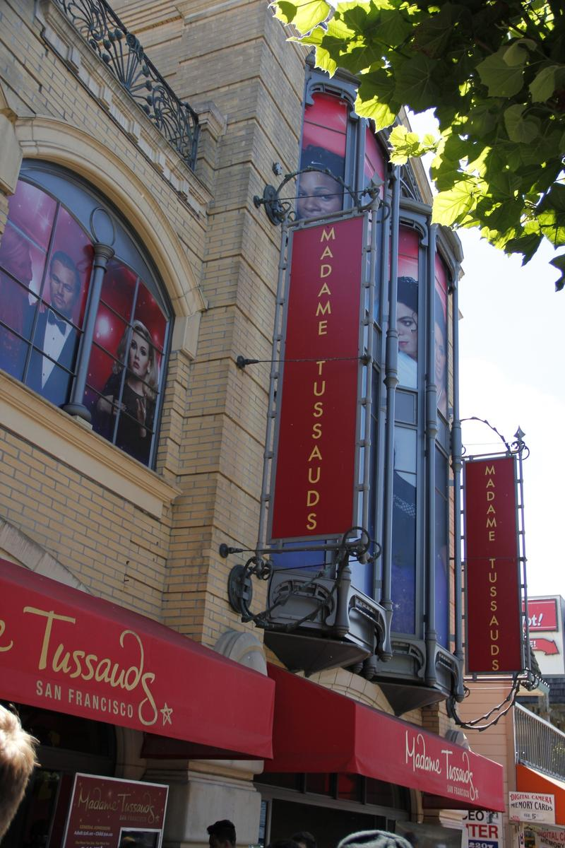 Madam Tussaud's at Fisherman's Wharf where you can do selfies with the wax figures